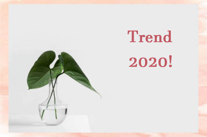Tendenze interior design 2020