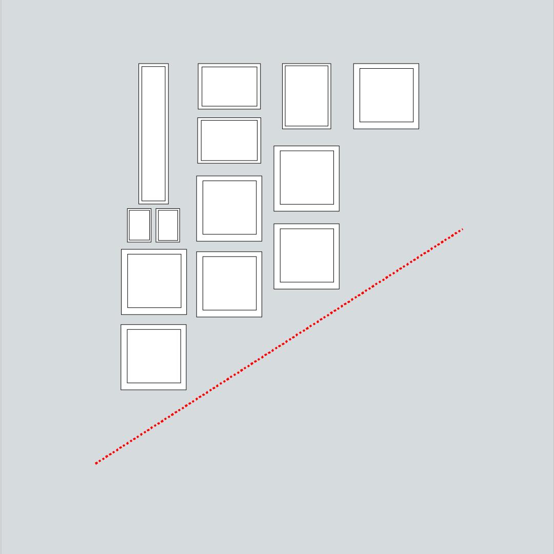 Come disporre i quadri